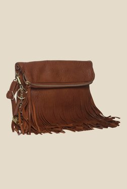 Toniq Dangler Brown Sling Bag