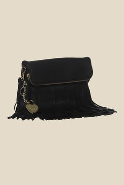 Toniq Dangler Black Sling Bag
