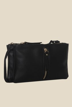 Toniq Black Zip It Sling Bag