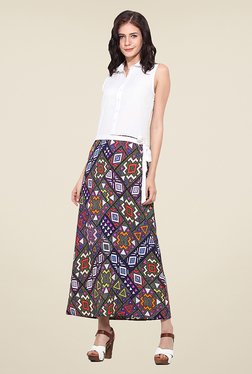 Trend Arrest Multicolor Printed Maxi Dress