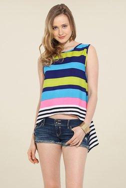 Trend Arrest Multicolor Striped Top