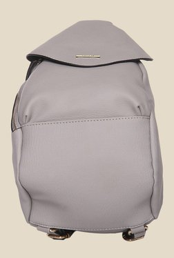 Toniq Grey Adjustable Strap Backpack