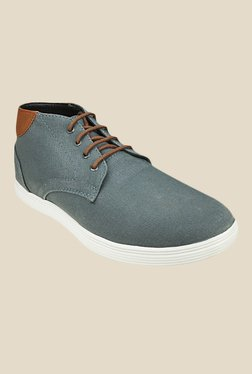 US Polo Assn. Grey & Brown Sneakers