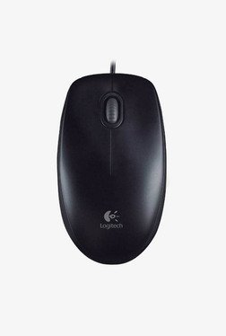 Logitech B100 USB Mouse (Black)