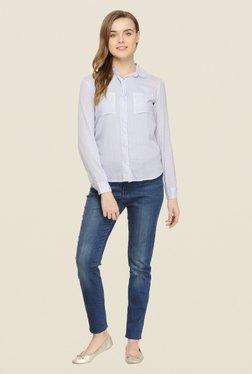 Rigo Blue Striped Shirt
