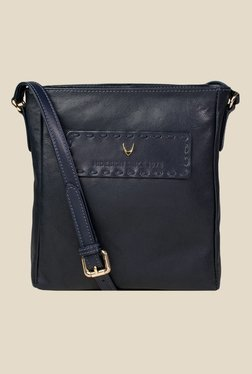 Hidesign Adhara 03 Navy Leather Sling Bag