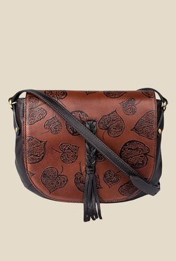 Hidesign Meryl 01 Brown Leather Sling Bag