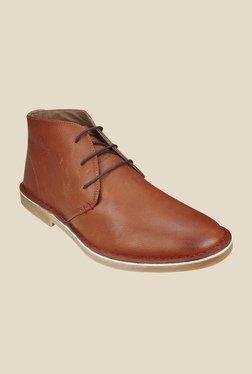 US Polo Assn. Brown Chukka Boots