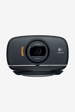 Logitech B525 2 MP HD Webcam (Black)