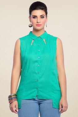 Zola Green Cotton Shirt