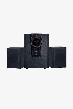 iBall MJ D9+ 2.1 Channel 25 W Multimedia Speaker (Black)