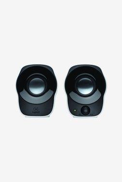 Logitech Z120 2.0 Channel 1.2 W Computer Speaker (White)