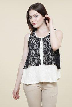 Renka White Lace Top