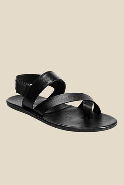Molessi Black Back Strap Sandals