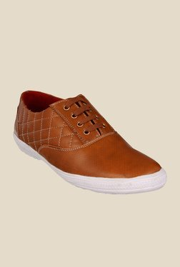 Bruno Manetti Tan & White Sneakers - Mp000000000758563