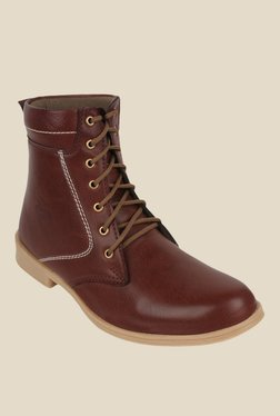 Molessi Brown Biker Boots