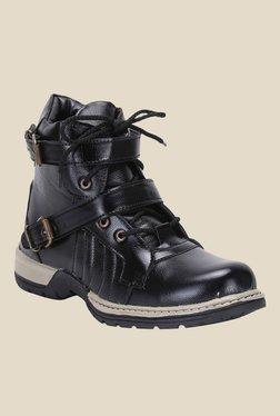 Molessi Black Biker Boots