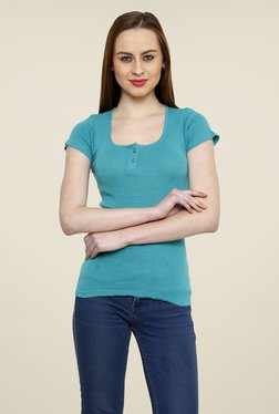 Renka Turquoise Solid Top - Mp000000000763193