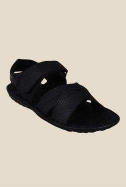 Bruno Manetti Black Ankle Strap Sandals