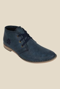 Molessi Navy Blue Casual Boots