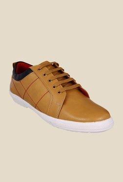 Bruno Manetti Tan & Black Sneakers