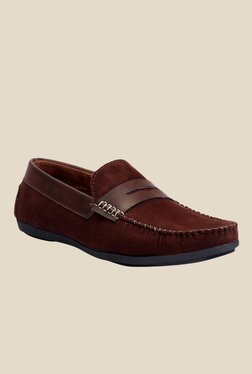 Molessi Brown Casual Loafers