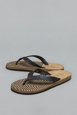 Westsport by Westside Black Thong Flip Flops