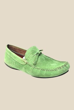 Molessi Green Casual Moccasins