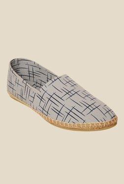 Bruno Manetti Grey & Blue Espadrille Shoes