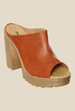 Bruno Manetti Tan Casual Sandals