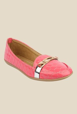 Moonwalk Pink Casual Loafers