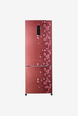 Haier HRB-3654PRL-R 345L 3S Double Door Refrigerator (Red)