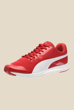 Puma Flexracer DP Red Running Shoes