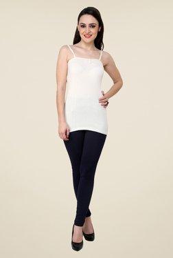 Renka White Solid Cami Top
