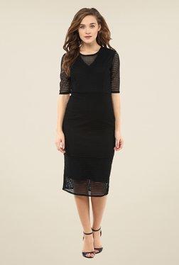 Femella Black Lace Dress