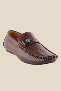 Smart Wood Brown Casual Loafers
