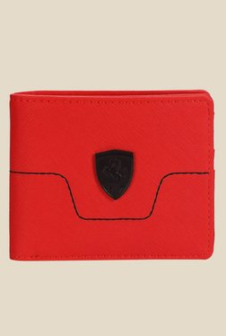 Puma Ferrari LS Red Wallet
