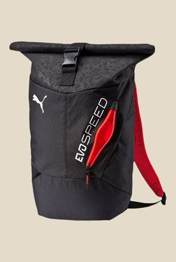 Puma Evospeed Black Textured Unisex Backpack