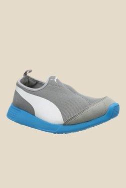 Puma ST Trainer Evo Grey Casual Slip-Ons