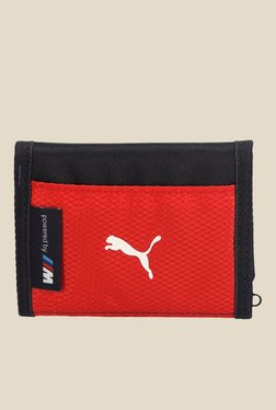 Puma BMW Motorsport Red Wallet