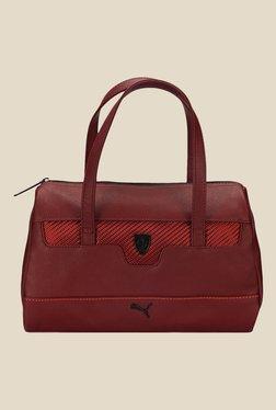 Puma Ferrari LS Maroon Duffle Bag