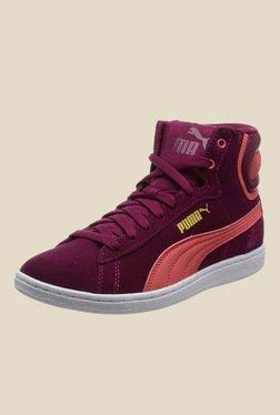 Puma Vikky Mid NC Purple Sneakers