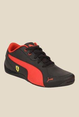 Puma Ferrari Drift Cat 5 L SF NU Jr Black Sneakers