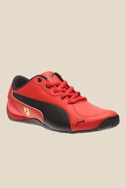 Puma Ferrari Drift Cat 5 L SF NU Jr Red Sneakers