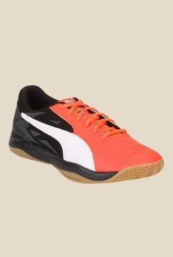 Puma Veloz Indoor III Peach & Black Running Shoes