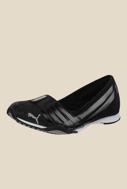 Puma Asha Alt 2 Shine Black Casual Slip-Ons