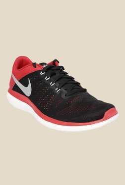 Nike Flex 2016 RN Black & Red Running Shoes