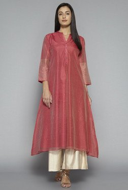 Zuba by Westside Pink Regular Fit Kurta
