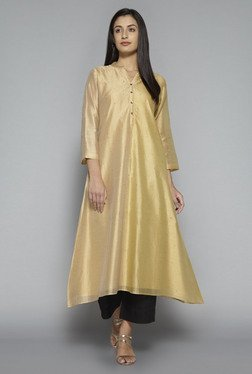 Zuba by Westside Beige Regular Fit Kurta