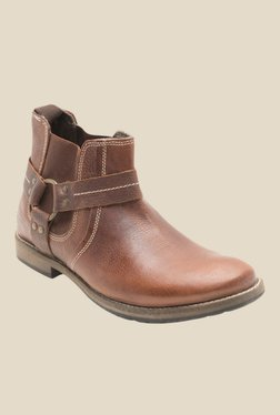 Yezdi By Red Tape Brown Chelsea Boots